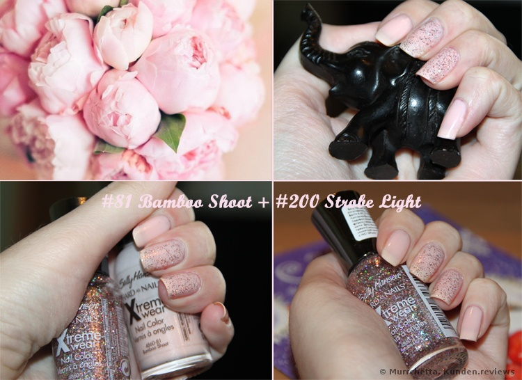 Sally Hansen  Hard As Nails Xtreme Wear Nagellack Foto