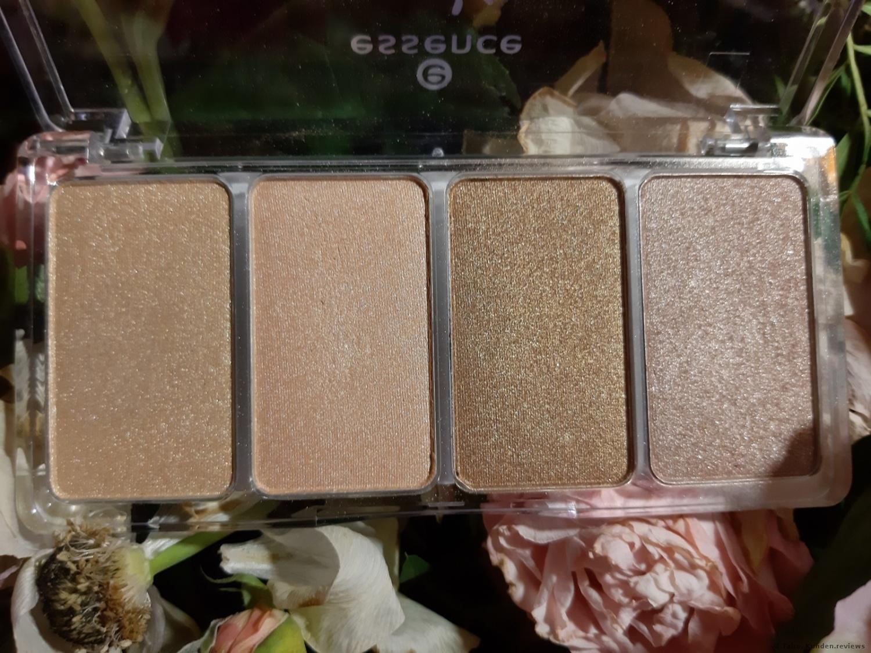 Highlighter Palette von Essence - Glow to go
