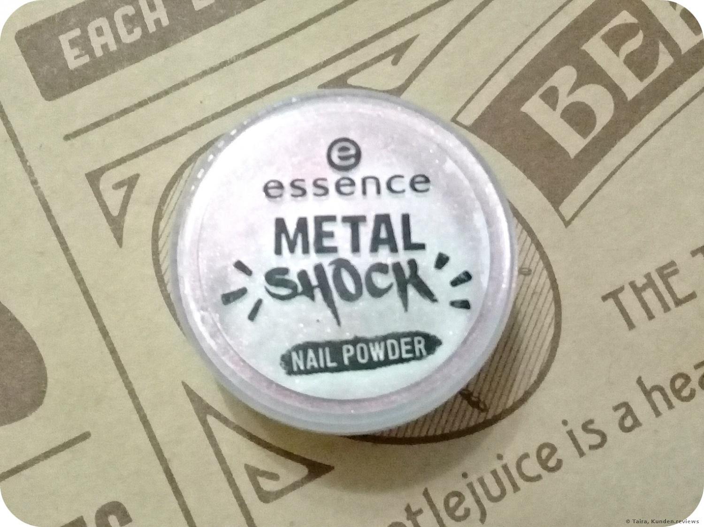Essence  Metal Shock Nail Powder Nagelpuder Foto