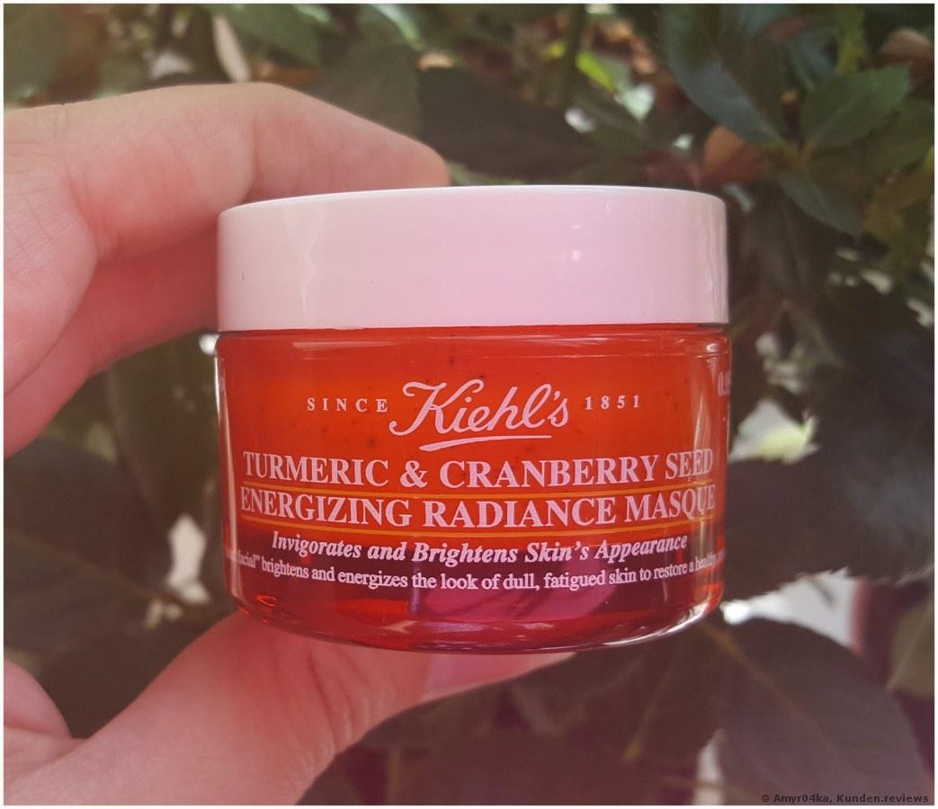 Kiehl's Turmeric & Cranberry Seed Energizing Radiance Masque Gesichtsmaske