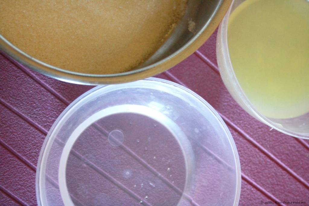 Sugaring Rezept - selber machen