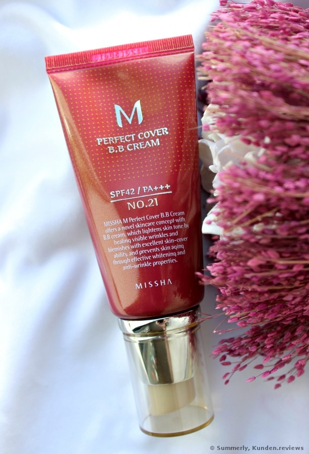 MISSHA M Perfect Cover BB Cream SPF42 - #21