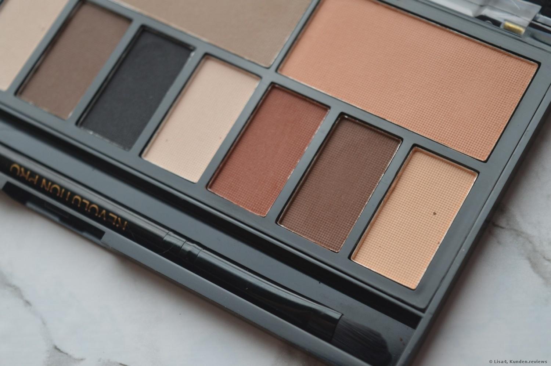 MakeUp Revolution Ultra Eye Contour Palette Light & Shade Künstliche Wimpern Foto