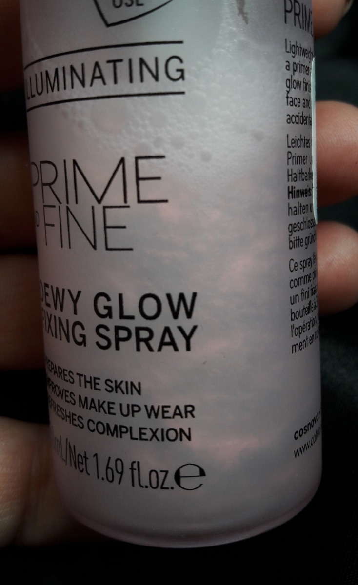 Catrice Prime And Fine Dewy Glow Fixing Spray Setting Foto