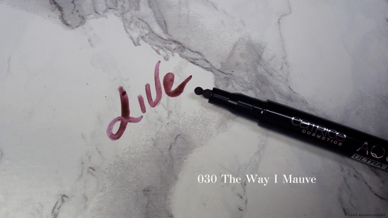 Catrice Aqua Ink Lipliner- 030 The Way I Mauve