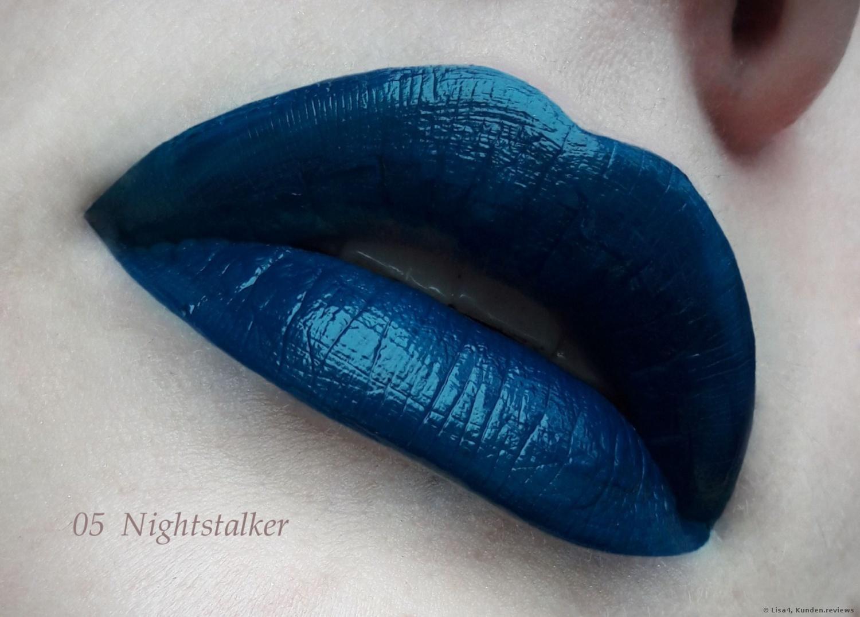 Essence Vibrant shock lip paint #05 Nightstalker