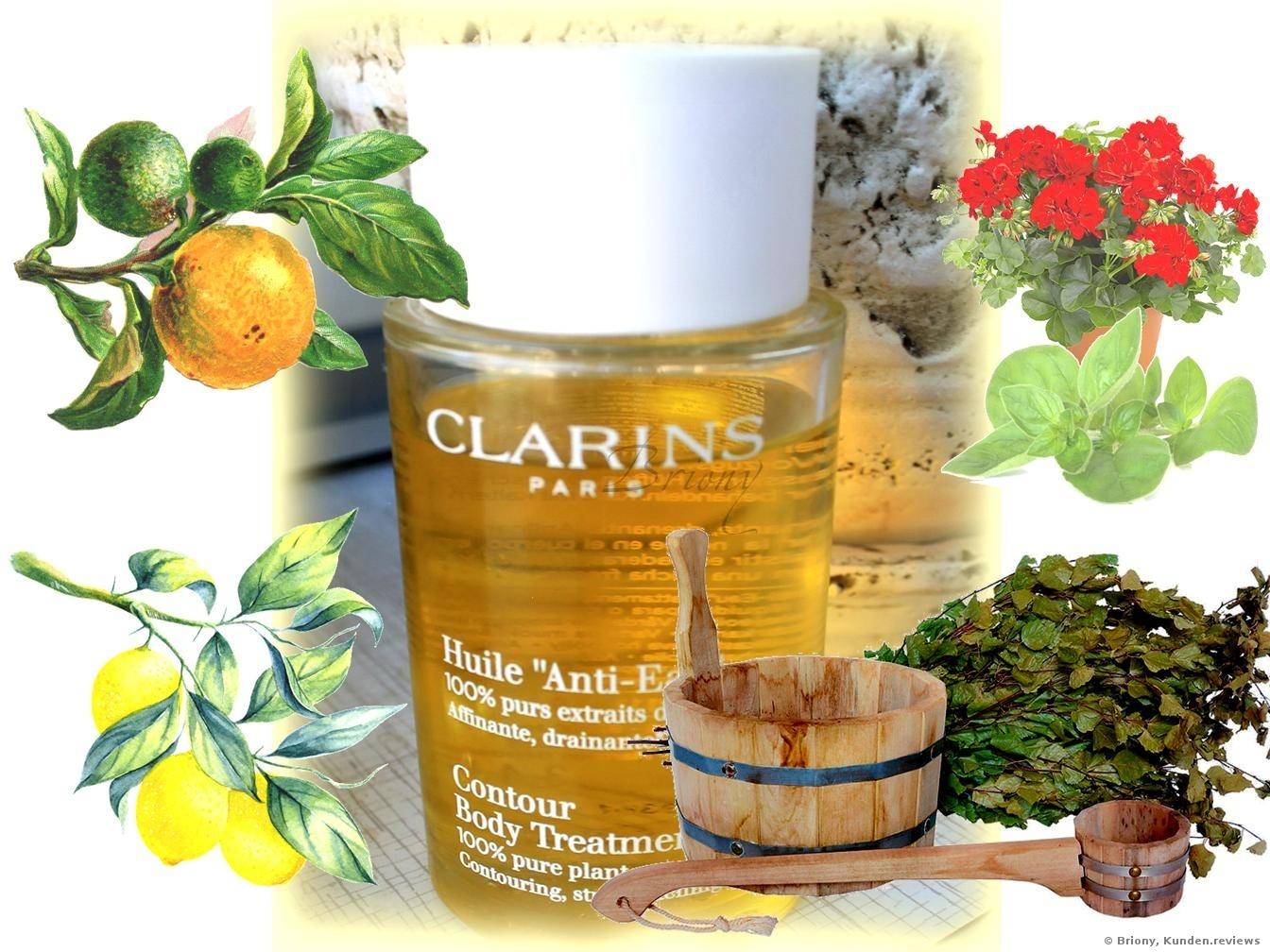 Clarins Pflanzen-Aroma-Körperpflege Huile 'Anti- Eau'