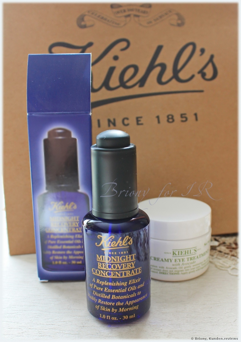 Kiehl's Midnight Recovery Concentrate Serum Foto