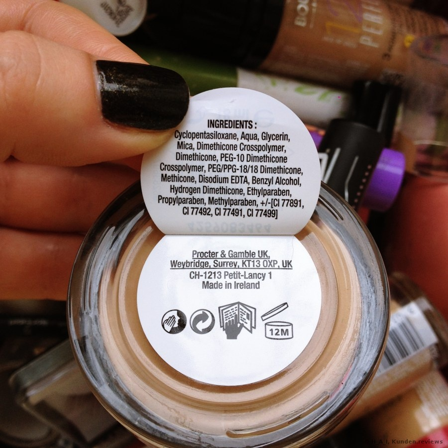 Maybelline Whipped Creme  Foundation Foto