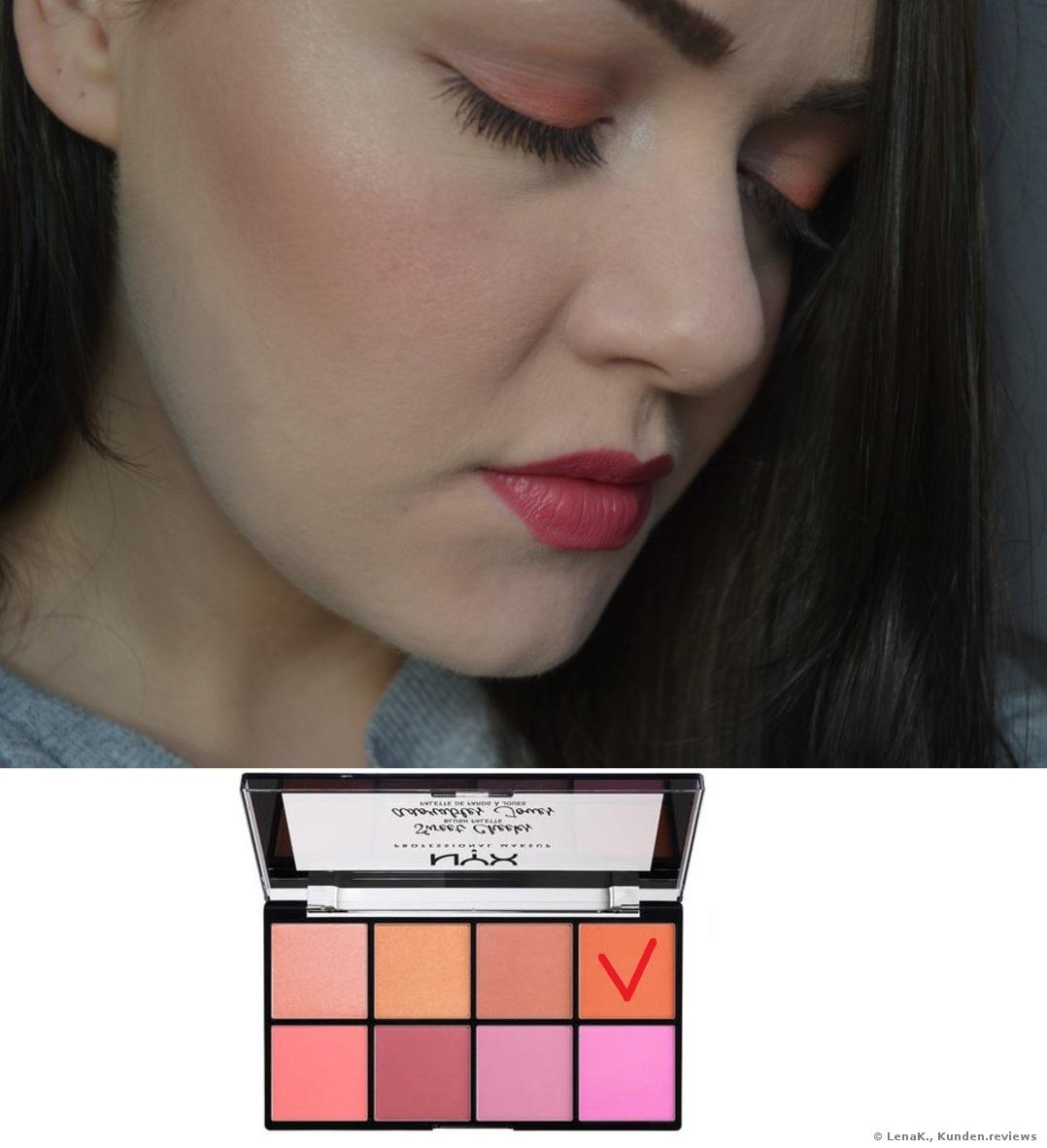 NYX Sweet Cheeks Palette Blush Foto