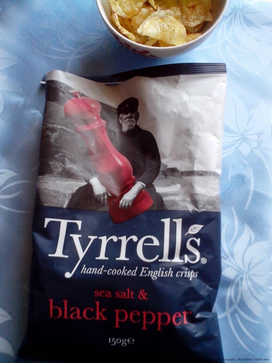 Tyrrell's Sea Salt und Cracked Black Pepper