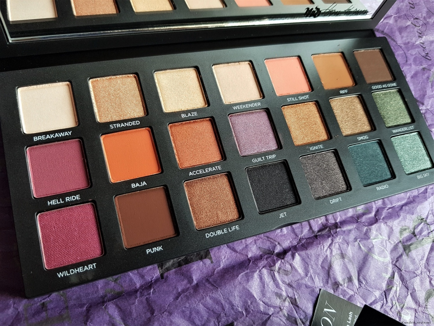 Urban Decay, Born To Run Eyeshadow Palette