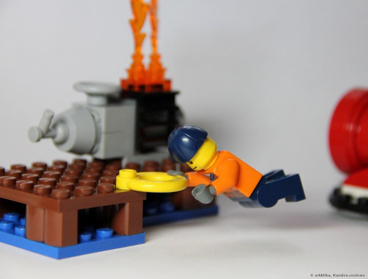 Lego City 60106 ist ein Feuerwehr-Starter-Set