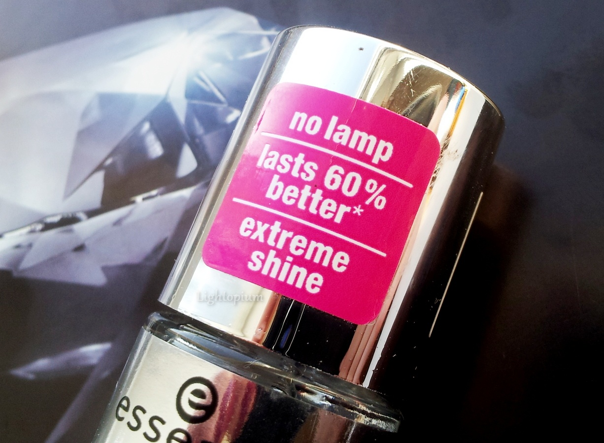 The Gel nail polish ТОР COAT von ESSENCE