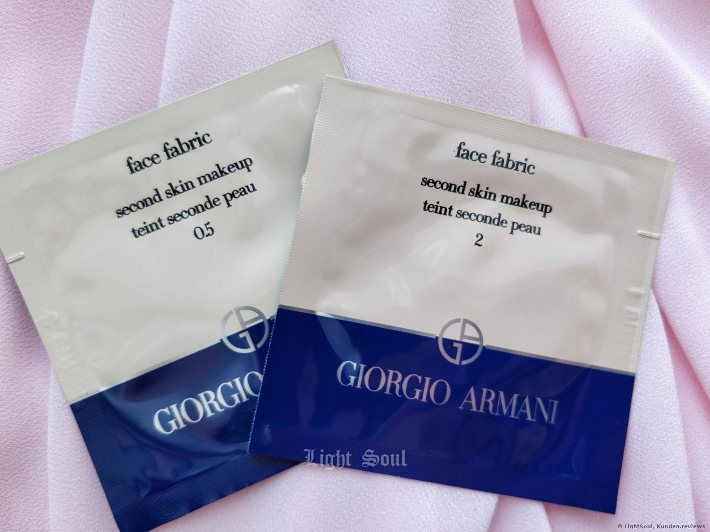 Giorgio Arman Face Fabric Foundation