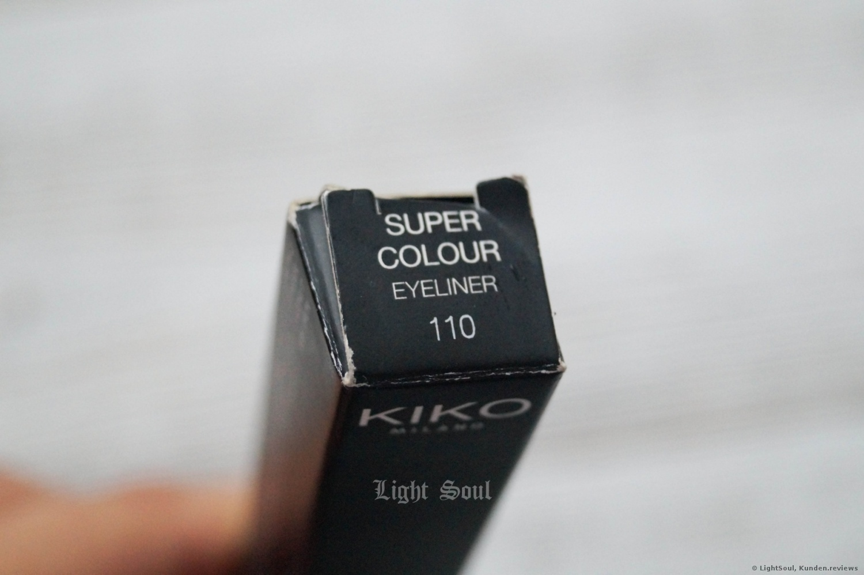 KIKO Super Colour Eyeliner 110 Pearly Regal Purple