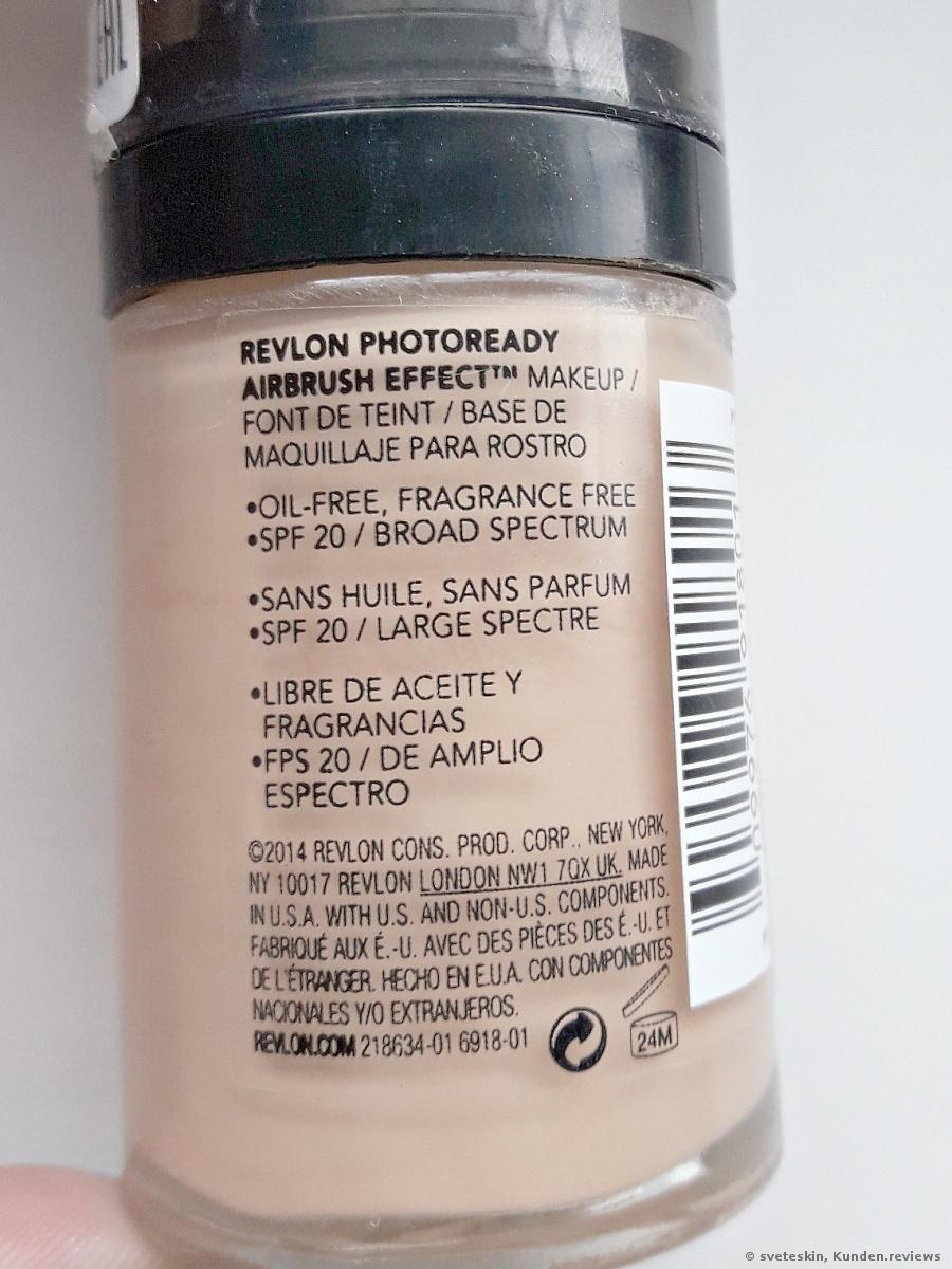 Revlon PhotoReady Airbrush Effect Makeup Foundation Foto