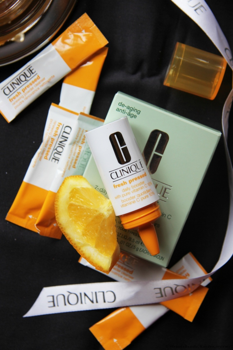 CLINIQUE Fresh Pressed 7-Day System with Pure Vitamin C Gesichtspflegeset Foto