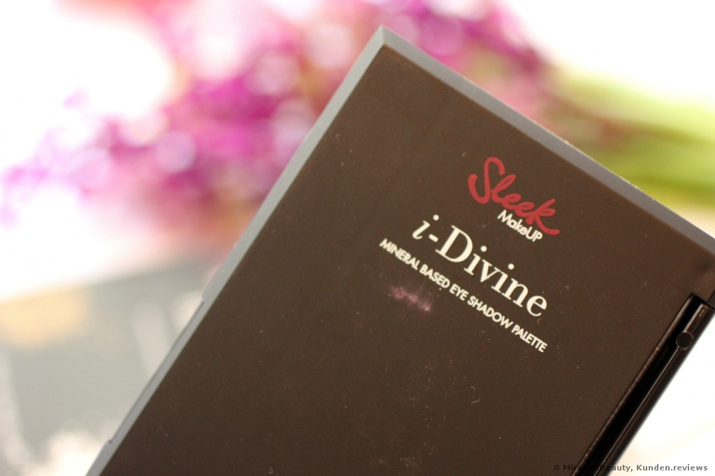 Sleek  i-Divine Lidschatten Palette Vintage Romance Foto