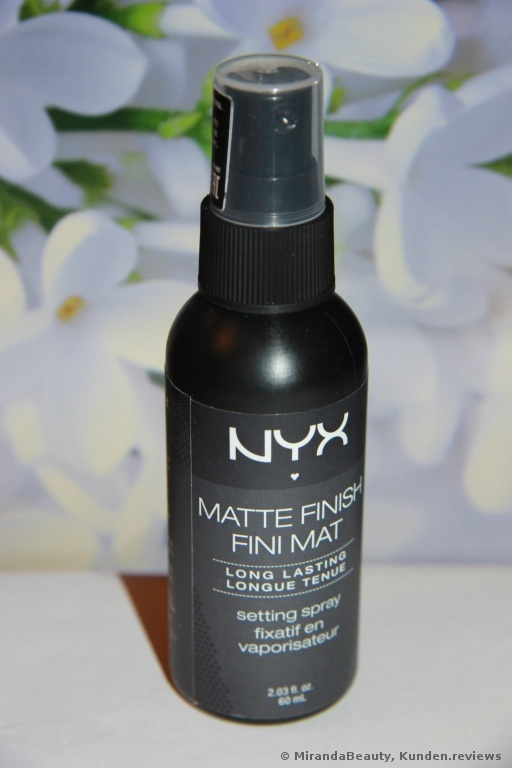 NYX  Matte Finish Long Lasting  Setting Spray Foto