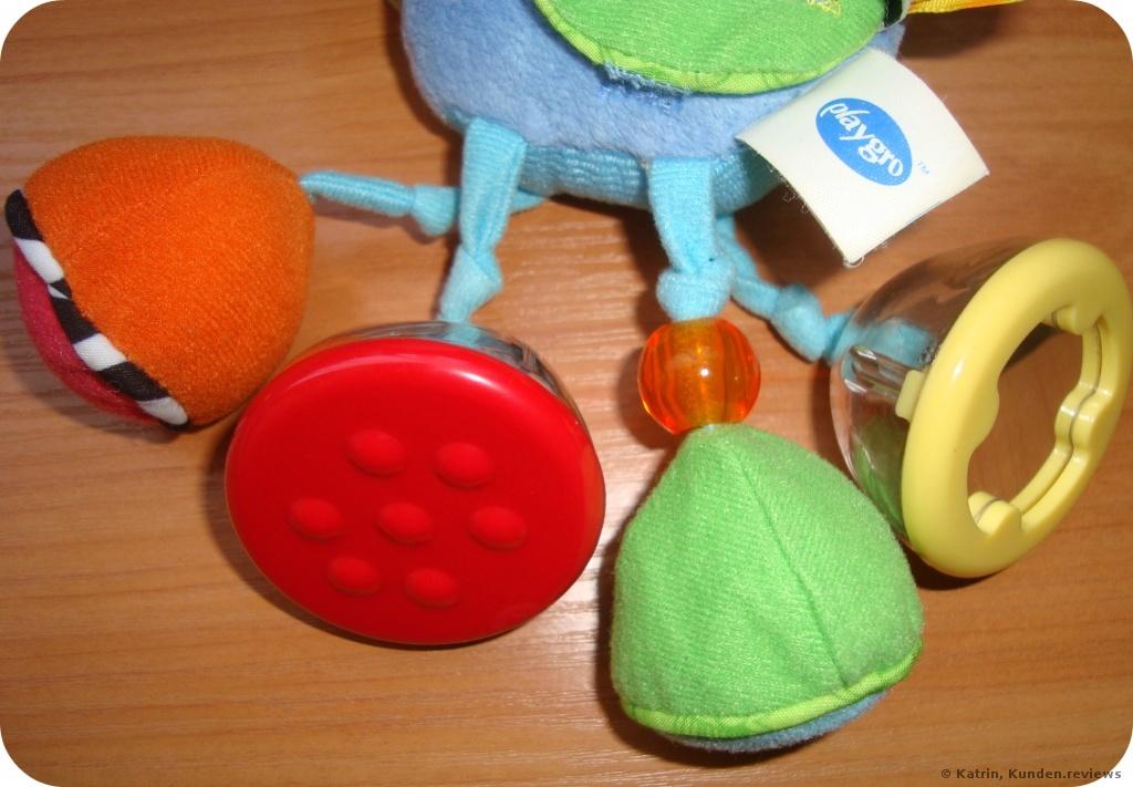 Playgro Klipp Klapp Pferd mit Rassel  Foto