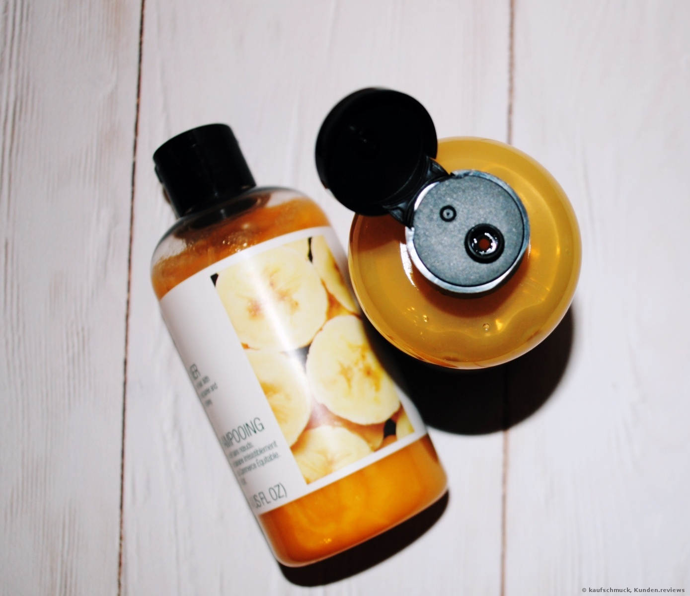 Banana Truly Nourishing Shampoo The Body Shop