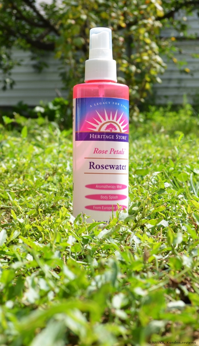 Heritage Store Rose Petals Rosewater Rosenwasser Foto