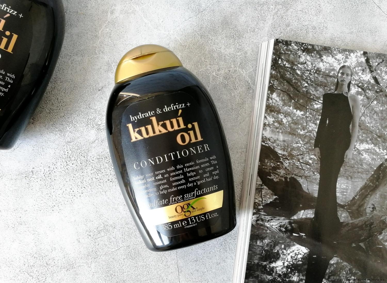 OGX Hydrate + Defrizz Kukui Öl Spülung