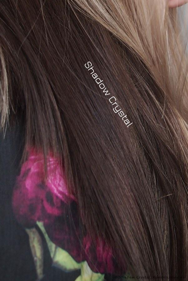 sofort nach der Färbung mit L'Oréal Professionnel INOA 6,1 dunkelblond asch