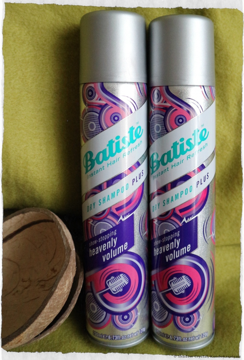 Batiste Trockenshampoos Heavenly Volume