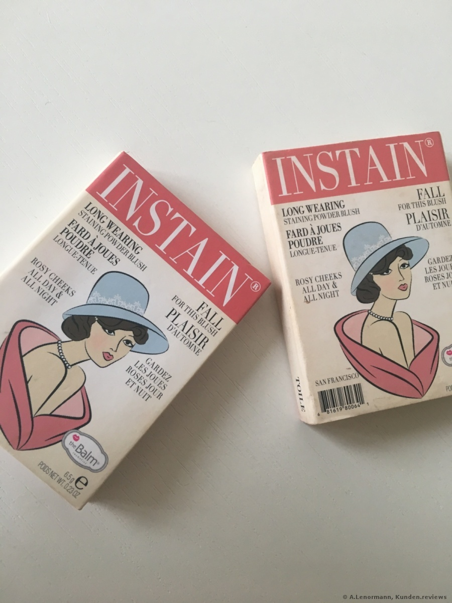 The Balm Instain Blush