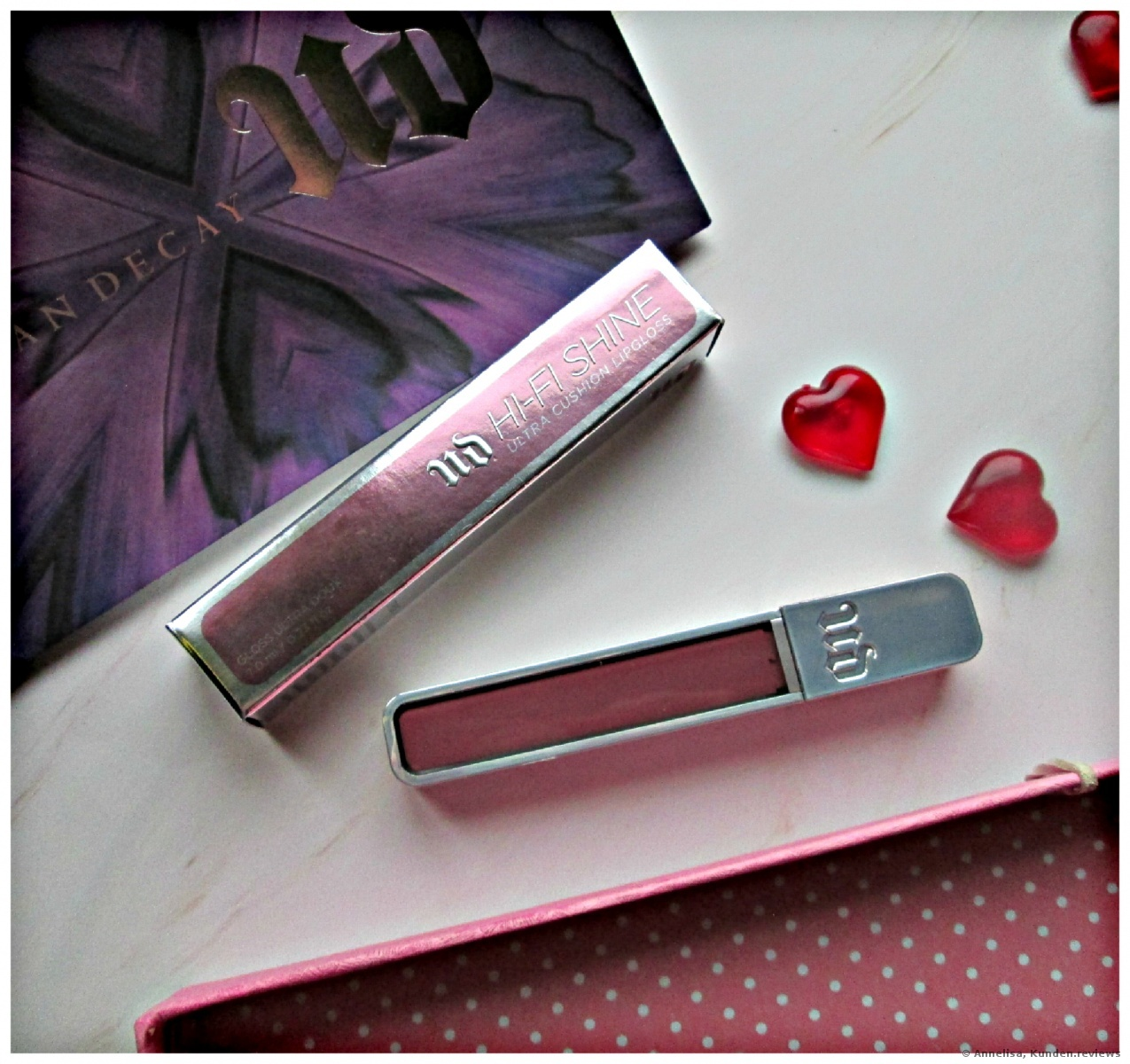 Urban Decay Hi-Fi Shine # Backtalk
