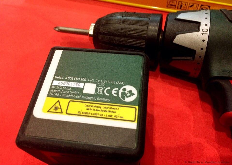 Bosch Kreuzlinien-Laser Quigo 3