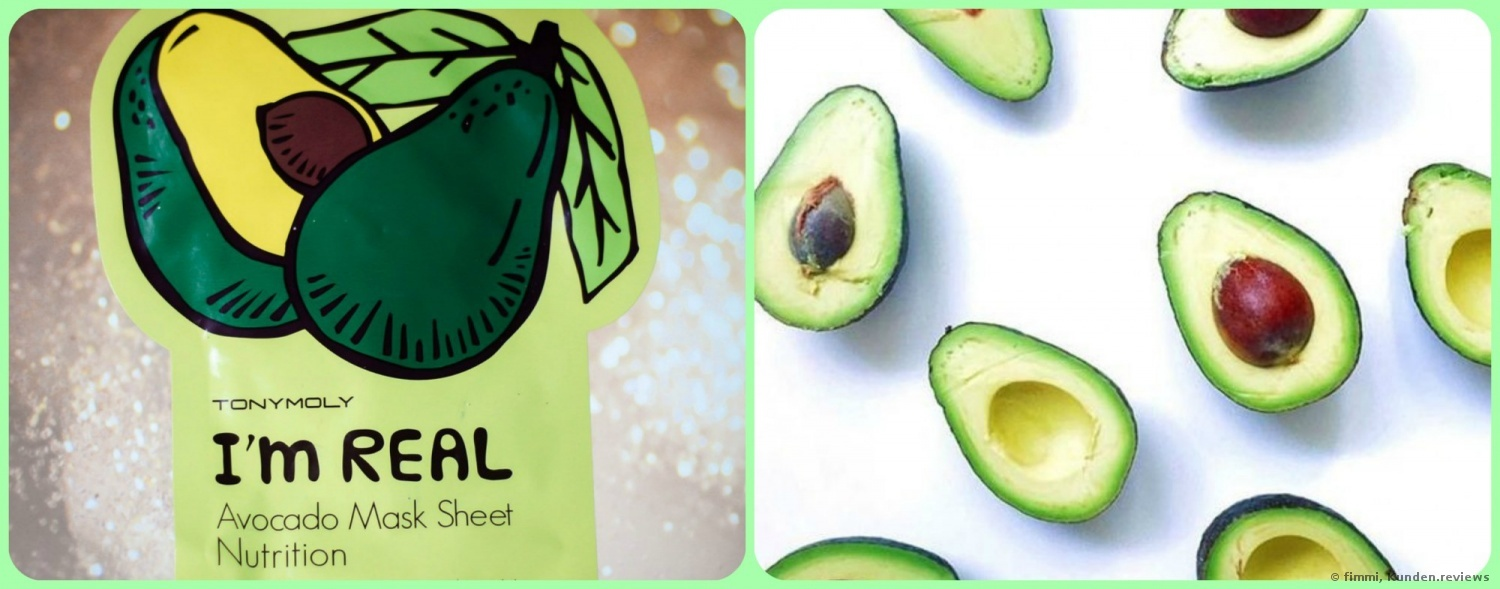 Tonymoly Masken I´m Real Avocado Sheet-Mask