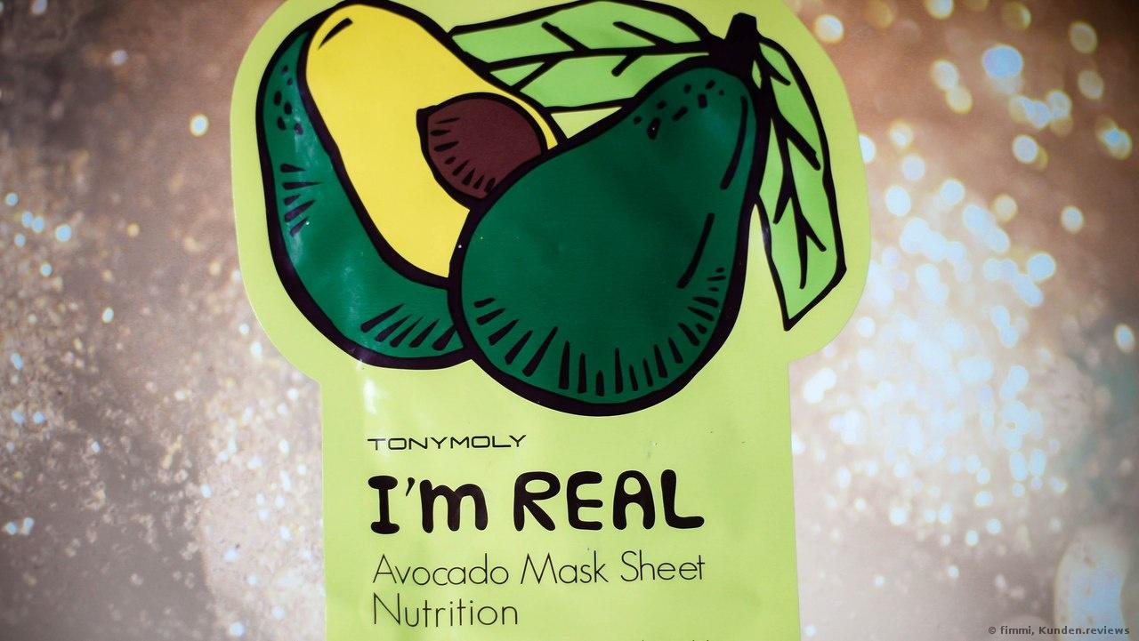 Tonymoly Masken I´m Real Avocado Sheet-Mask