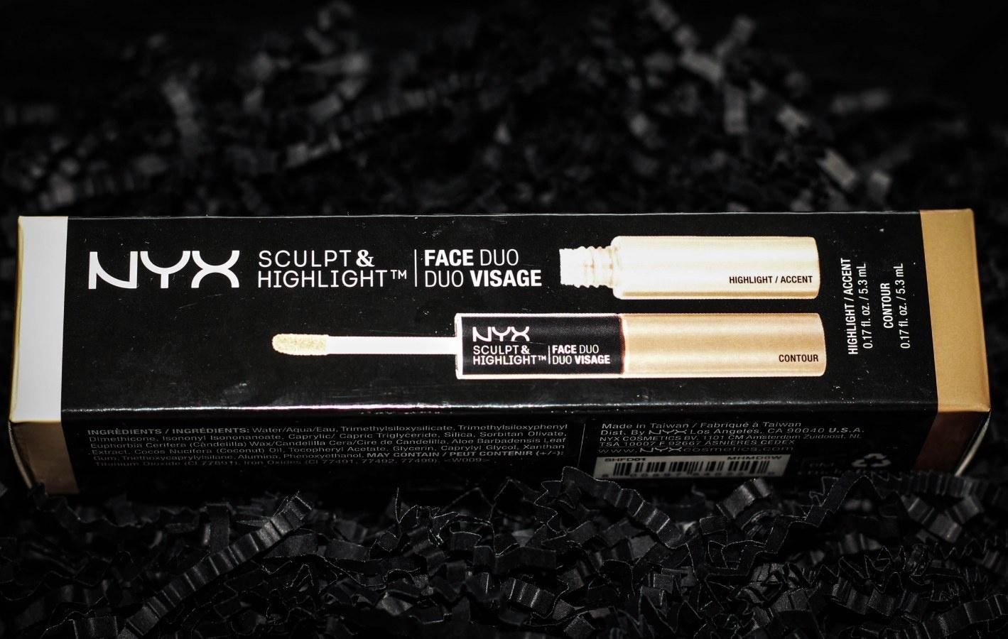 NYX Sculpt & Highlight Face Duo Make-up Set Foto