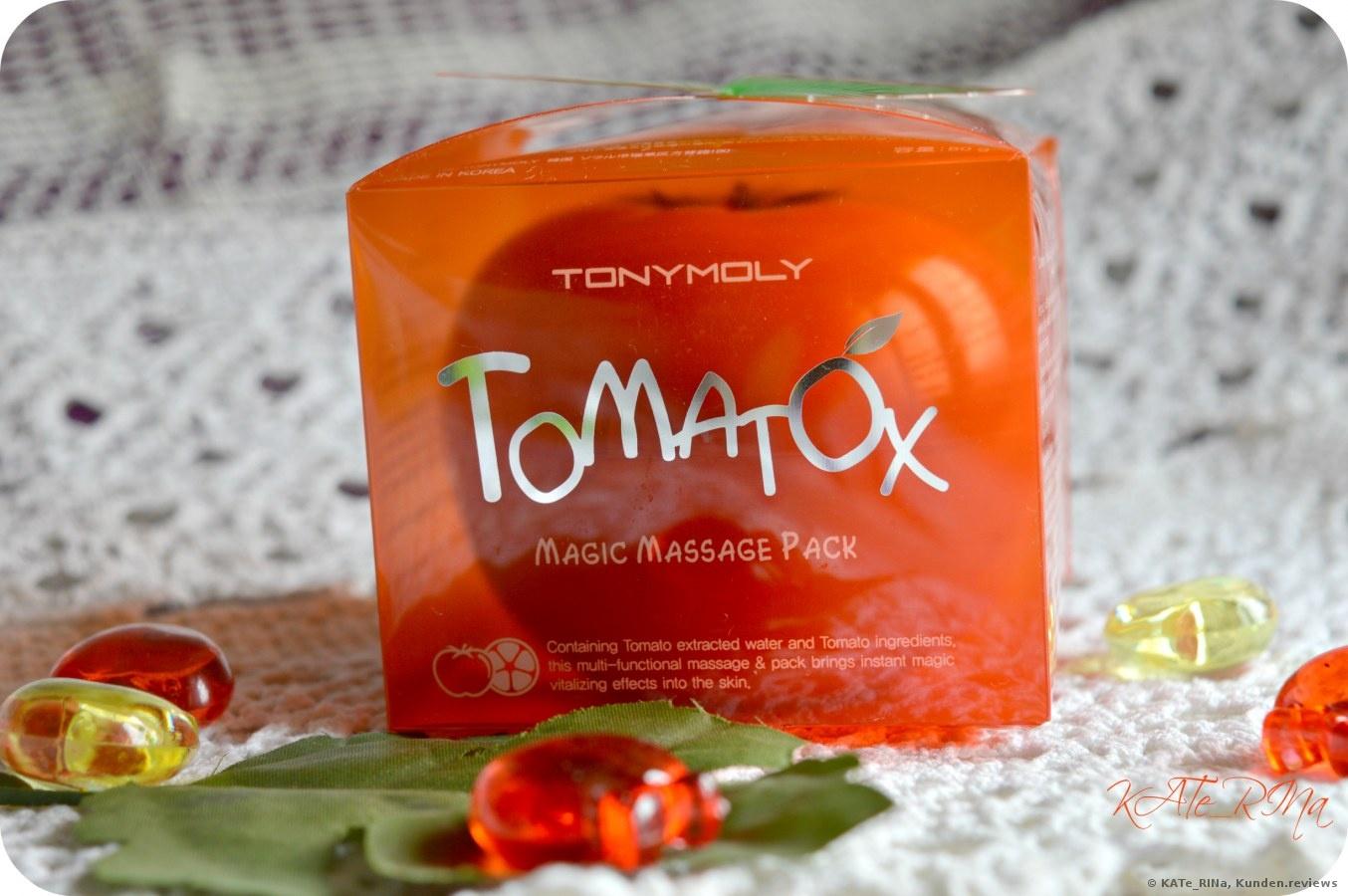 Tony Moly Tomatox Magic White Massage Pack Gesichtsmaske Foto
