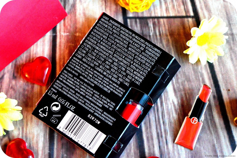 Lippenlack Giorgio Armani Lip Maestro # 400