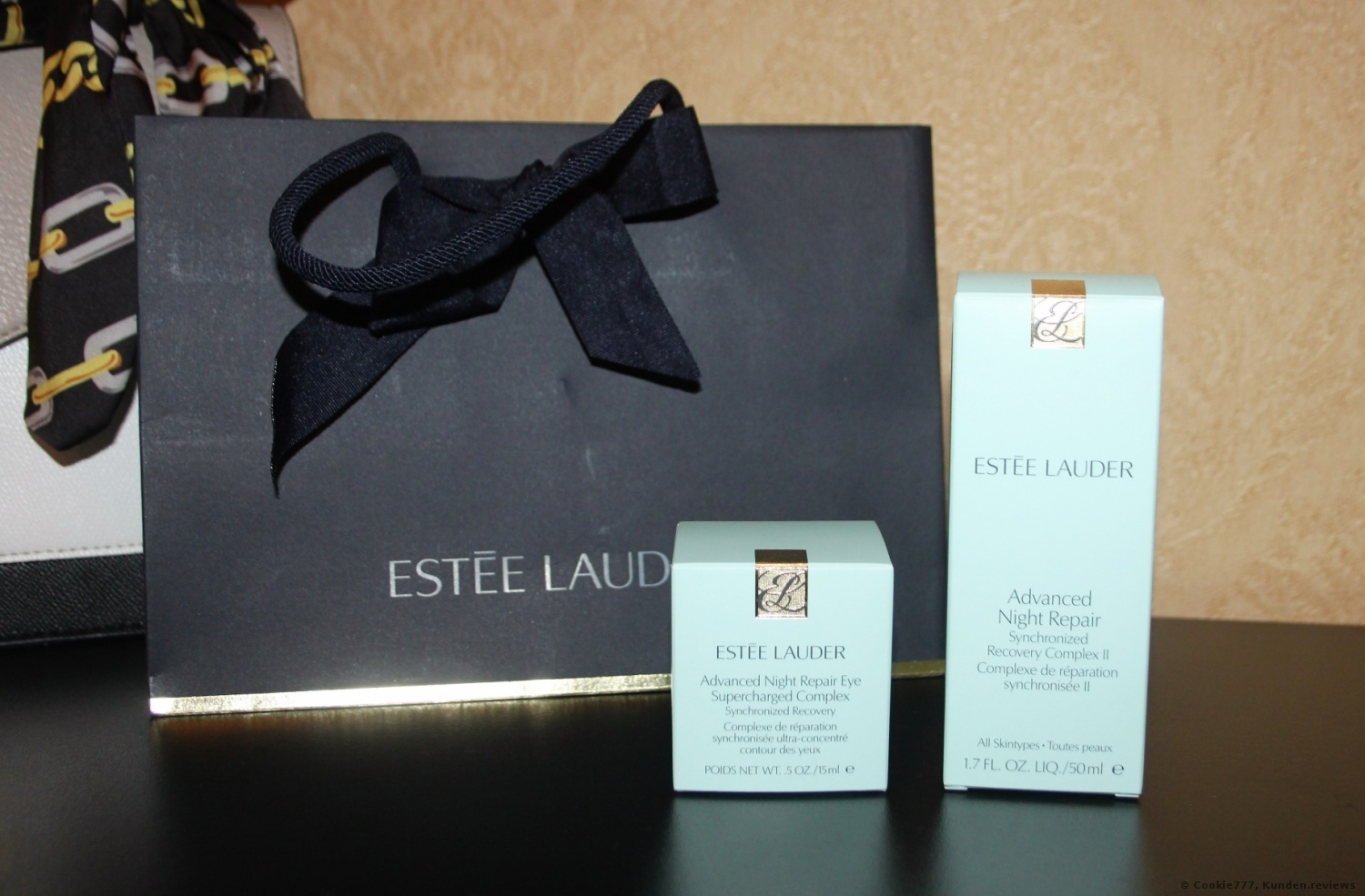 Estee Lauder Advanced Night Repair Eye Supercharged Complex Synchronized Recovery Augencreme Foto