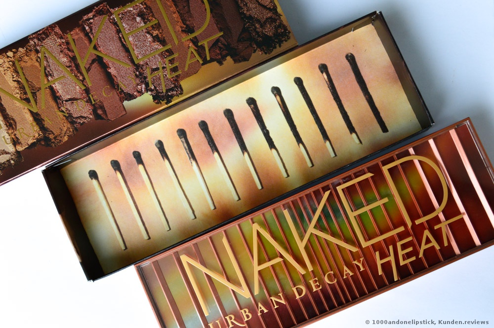 Urban Decay Lidschatten Naked Heat