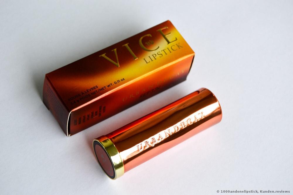 Urban Decay Heat Vice Lipstick Lippenstift Foto