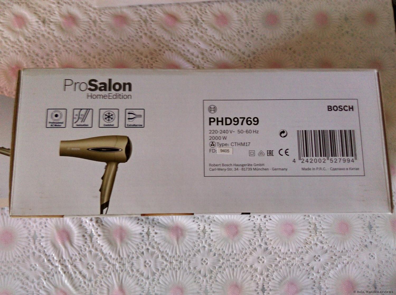 Bosch PHD9760 Haartrockner ProSalon