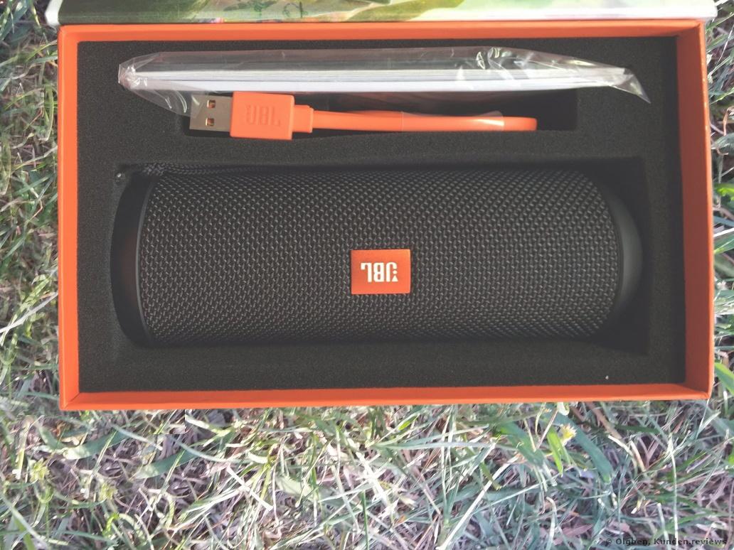 JBL Flip 3 Portabler Bluetooth-Lautsprecher Foto