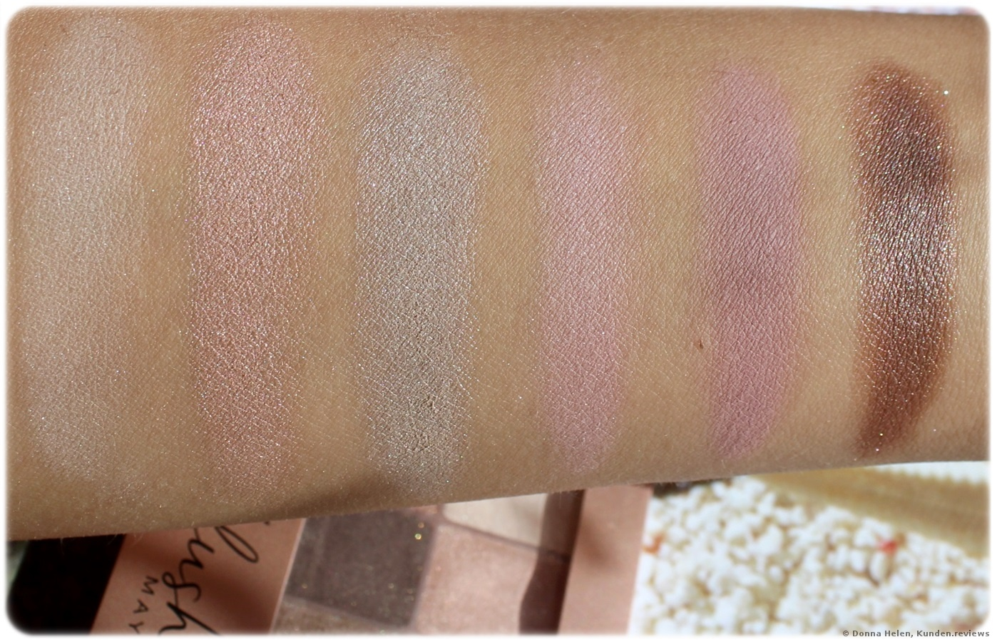 Maybelline Lidschatten The Blushed Nudes