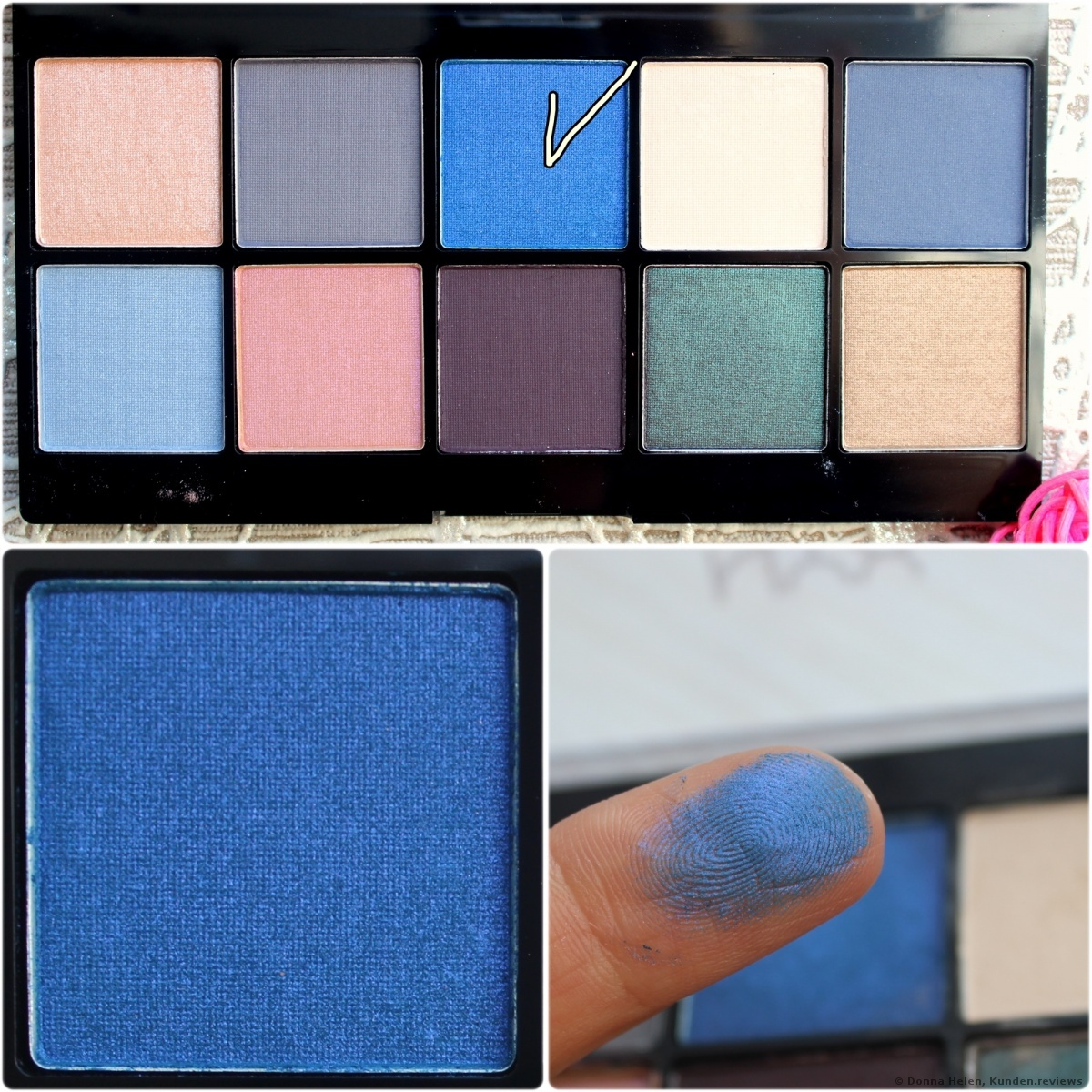 NYX Perfect Filter Shadow Palette Foto