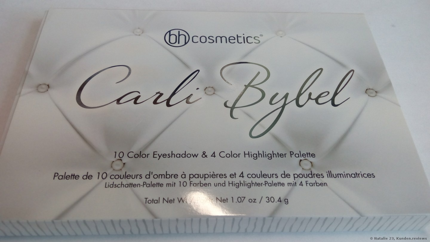 BH Cosmetics Carli Bybel 14 Color Eyeshadow & Highlighter Palette Foto