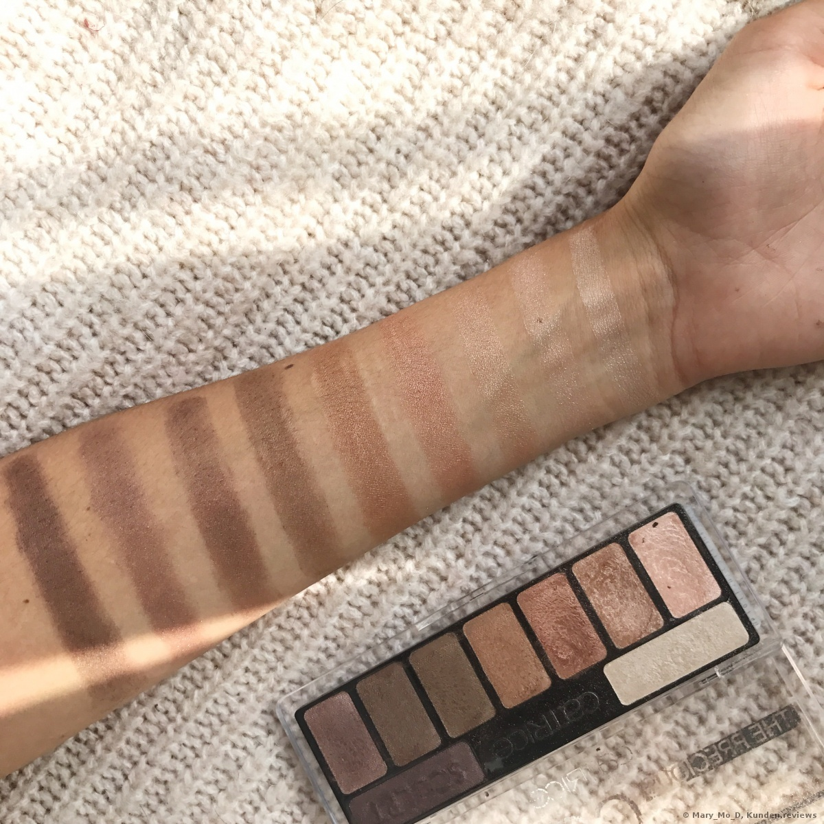 Catrice The Precious Copper Collection Eyeshadow Palette ohne Base