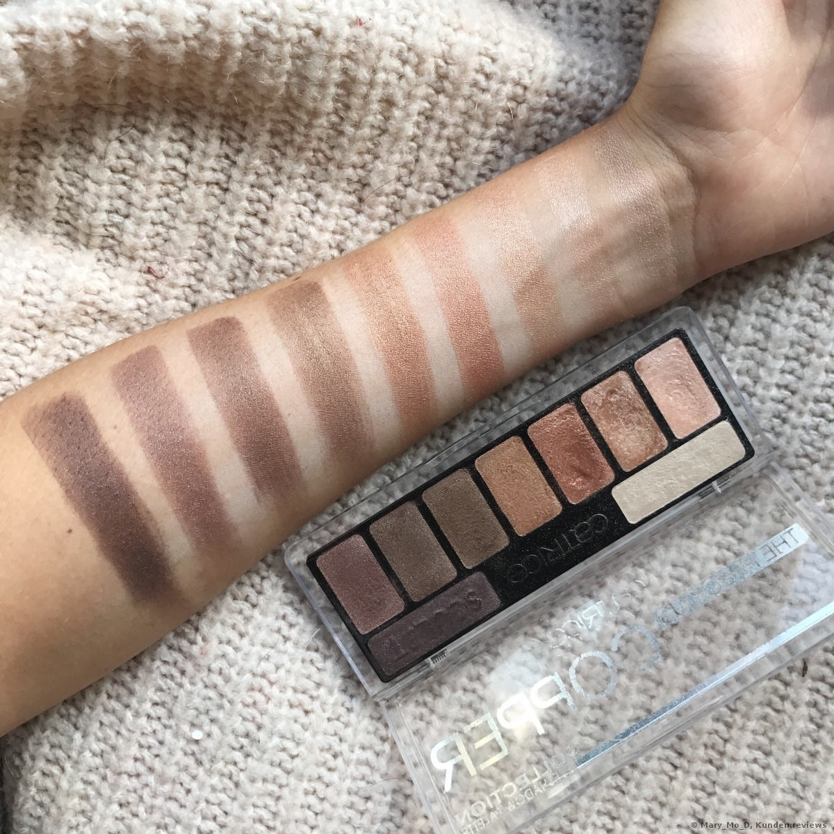 Catrice The Precious Copper Collection Eyeshadow Palette mit Base