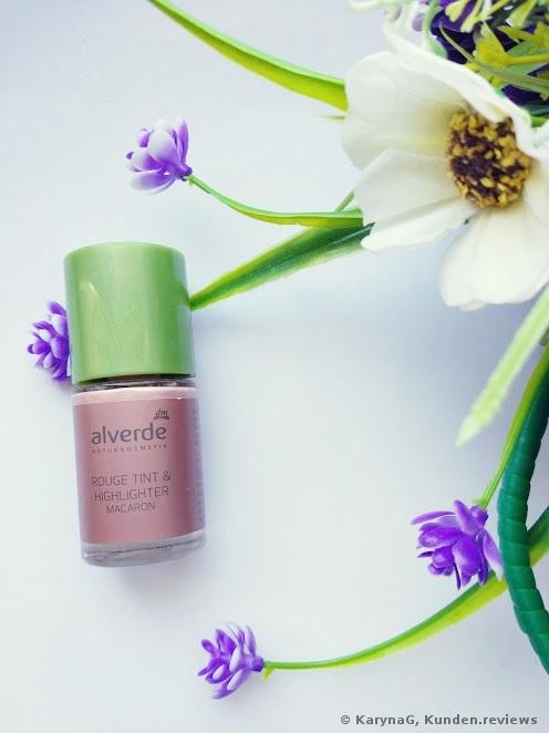 Alverde Rose Tinted Highlighter Foto