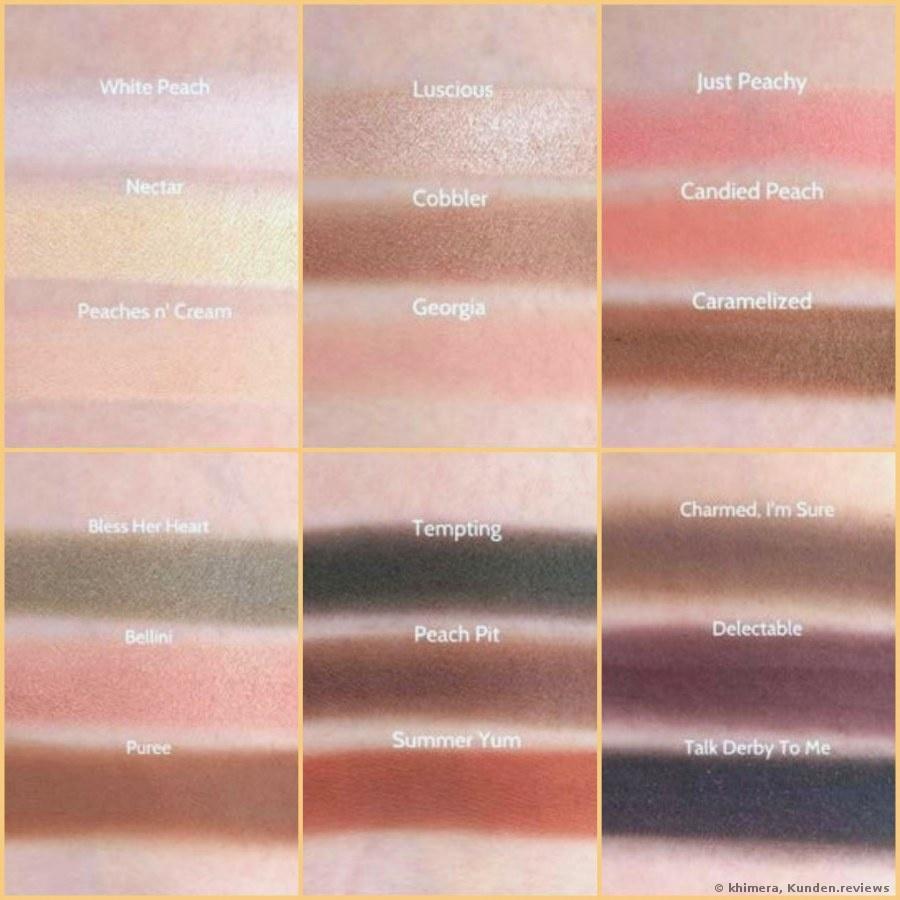 Sweet Peach Eye Shadow Collection  Lidschattenpalette